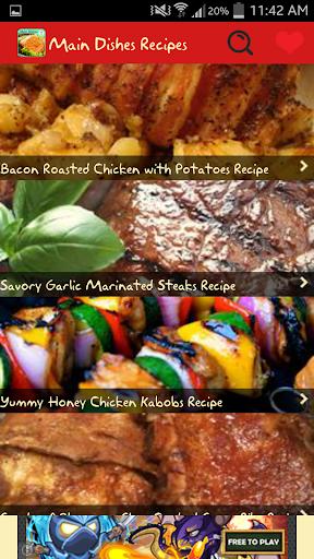 Main Dishes Recipes