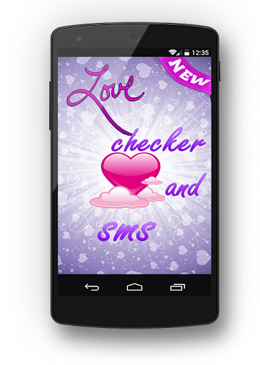 love checker and sms