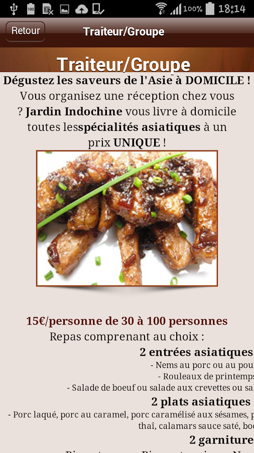 Jardin indochine android apps on google play for Jardin indochine