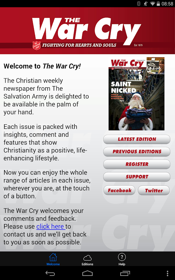 The War Cry- screenshot