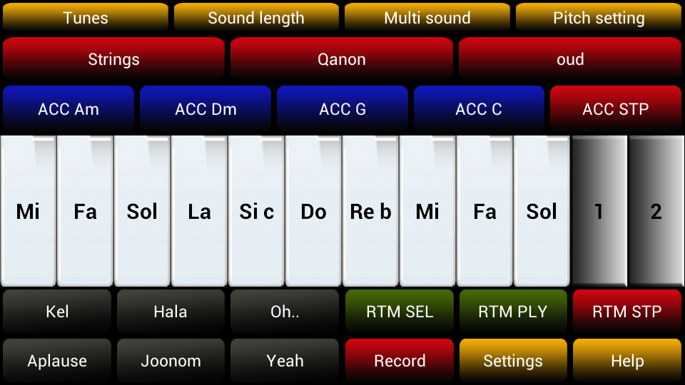 Arabic Instrument- screenshot