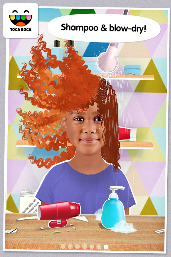 Toca Hair Salon Me- screenshot