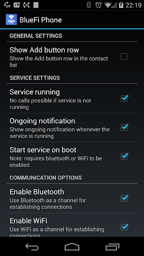 Download BlueFi Phone Android Apps APK - 4345668 | mobile9