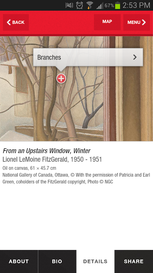 National Gallery of Canada- screenshot