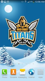 Gold Coast Titans Snow Globe- screenshot thumbnail