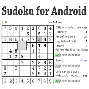 Sudoku for Android for PC and MAC