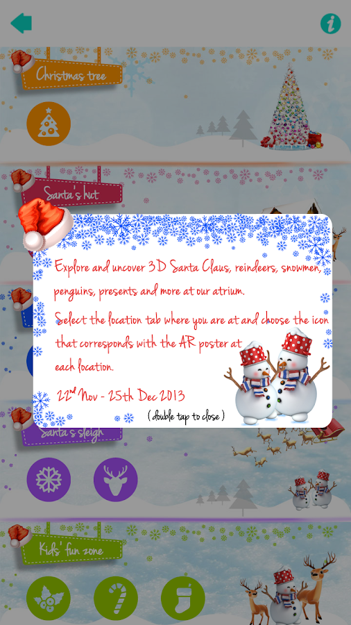 Marina Square AR Christmas - screenshot