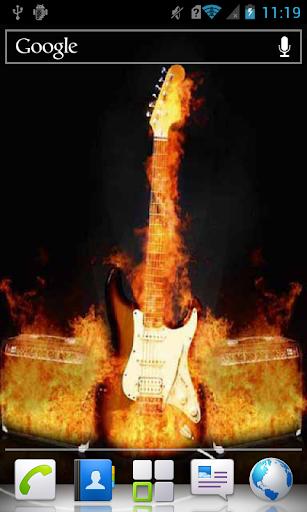 Hot Guitar a live