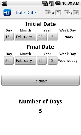 Days Calculator