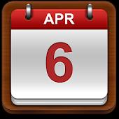 Thai Calendar 2014