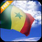 3D Senegal Flag Live Wallpaper icon
