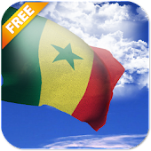 3D Senegal Flag Live Wallpaper