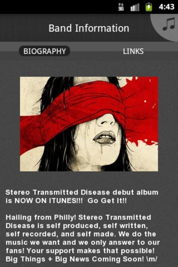 Stereo Transmitted Disease- screenshot
