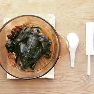 Black Chicken Stew