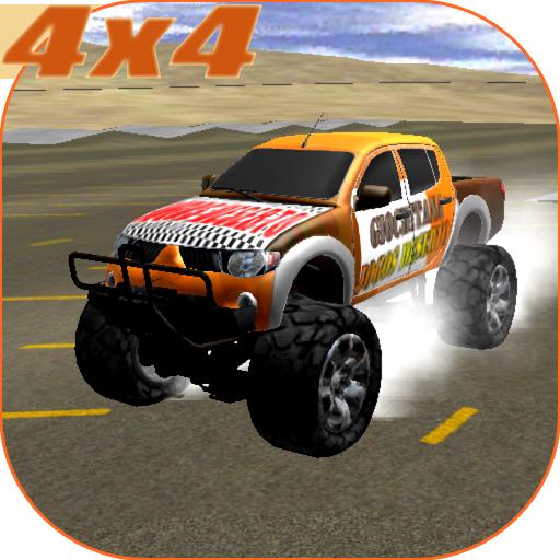 4X4的怪物卡车至尊 賽車遊戲 App LOGO-硬是要APP