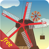Windmill and Pond (Free)
