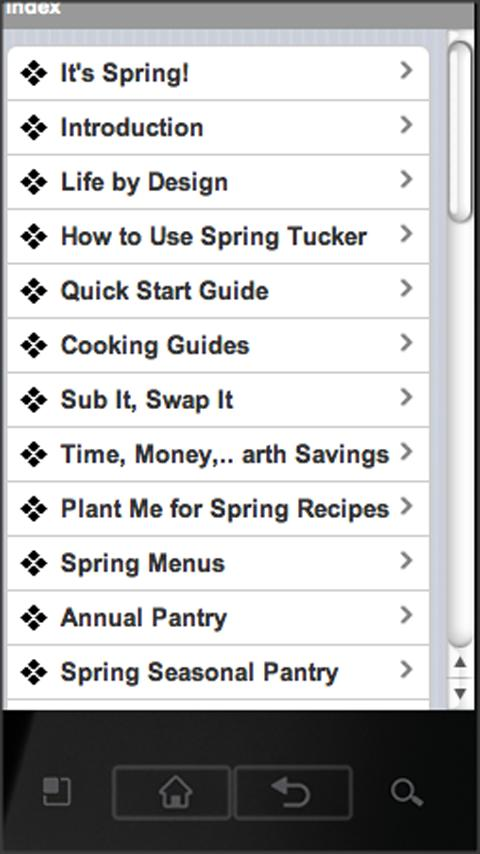 Spring Tucker - screenshot