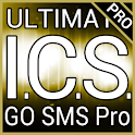 Gold ICS GO SMS Theme logo