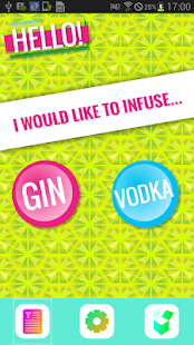 Infusion reipes - gin & vodka- screenshot thumbnail