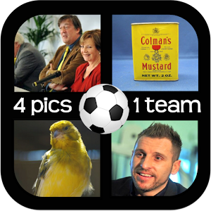 Football – 4 Pics 1 Team for PC and MAC