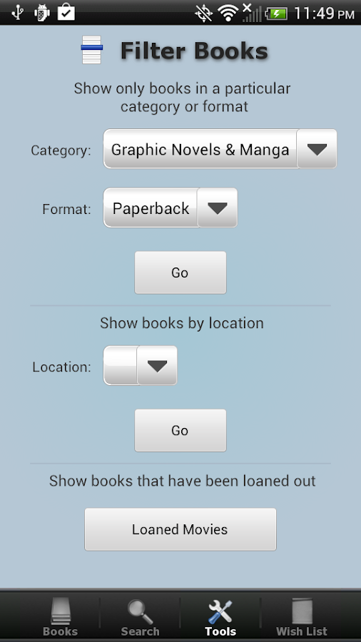 Book Collection + Catalog - screenshot
