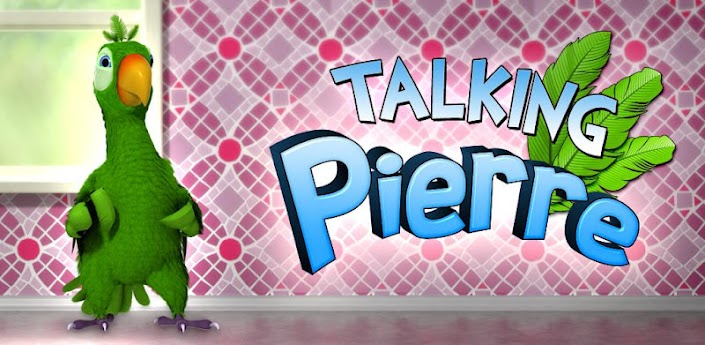 Talking Pierre the Parrot For Galaxy Y & Tablets