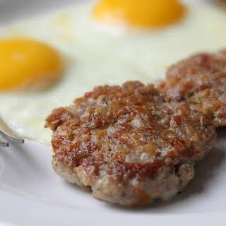 Good Morning Sausage! Pork, Fennel, and Orange Breakfast Sausage Patties.