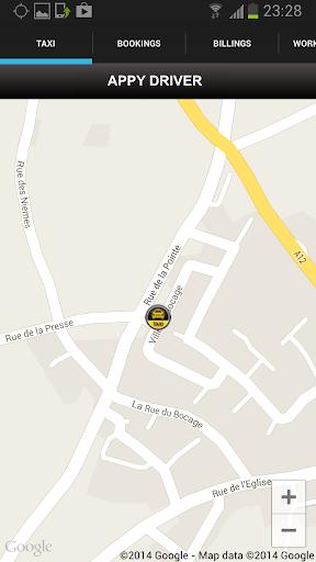 Appy Taxi UK Driver App