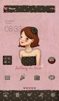 Screenshot of Falling love(lovely black)