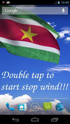 3D Suriname Flag LWP