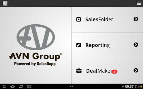 AVNGroup SalesRapp - screenshot thumbnail
