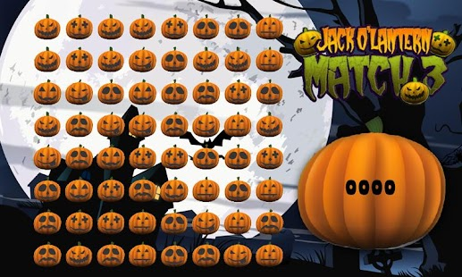 Halloween Pumpkin Match 3 Game- screenshot thumbnail