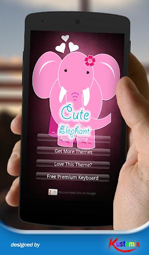Cute Elephant Keyboard