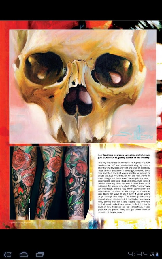 Tattoo Culture Magazine #1 - screenshot