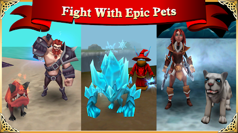 Arcane Legends: MMORPG Screenshot 4