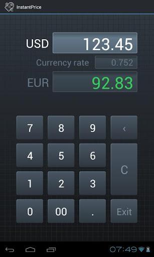 InstantPrice - Price Converter