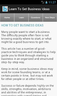 Startup & Business Ideas - screenshot thumbnail