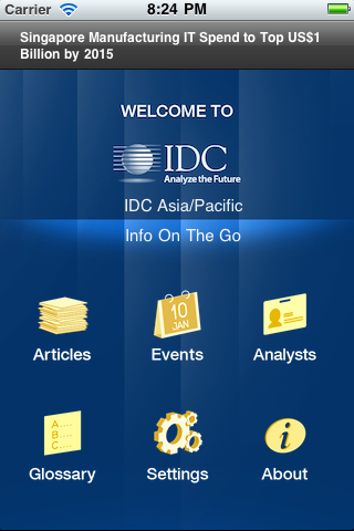 IDC Info On The Go