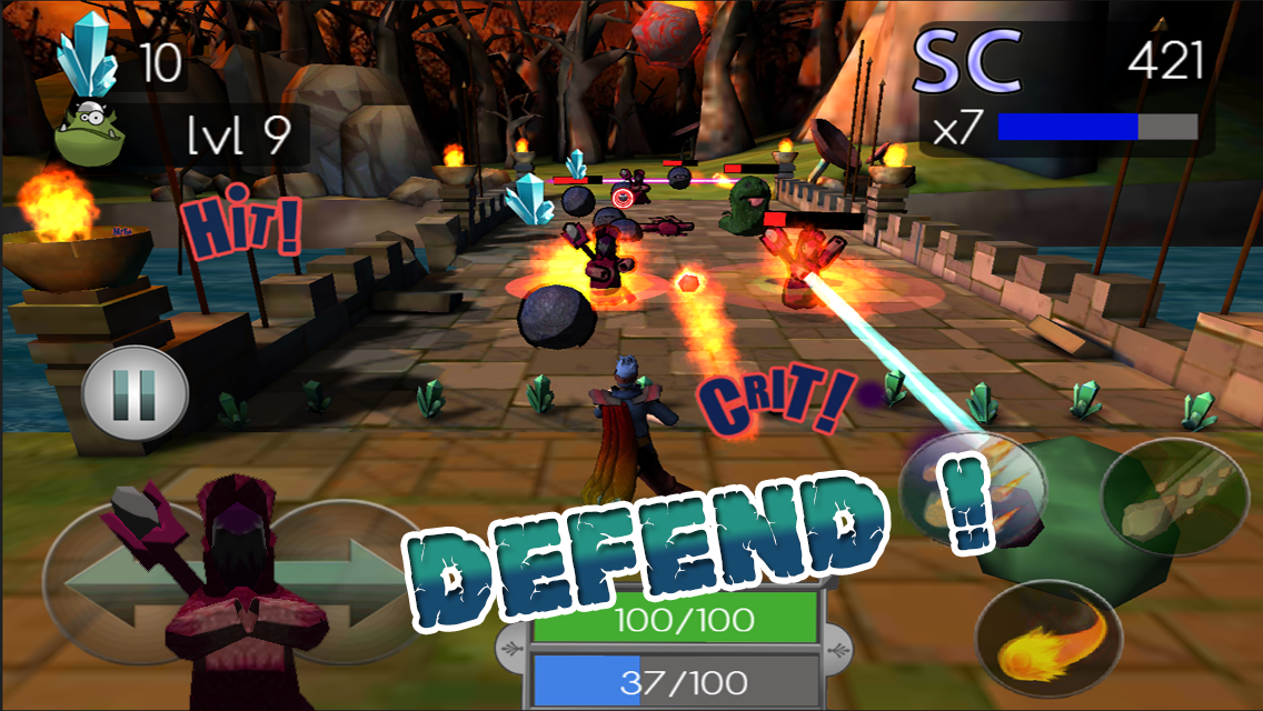 Mana Defense- screenshot