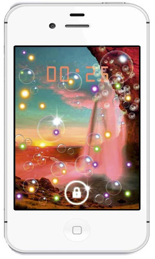 Waterfall Sunrise HD LWP