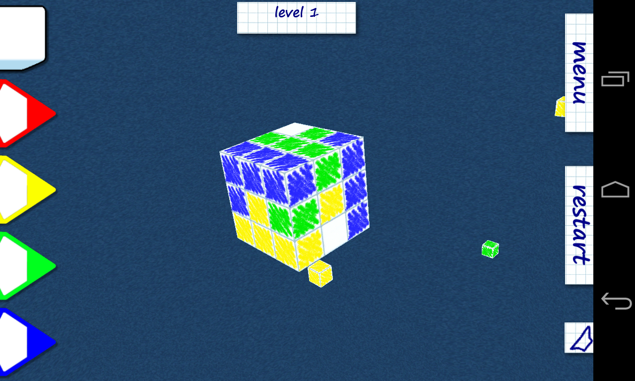 Papercube- screenshot
