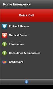玩旅遊App|Rome Emergency免費|APP試玩