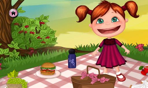 婴儿野餐 - 婴儿游戏