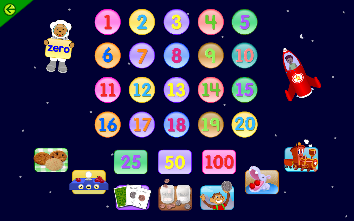Starfall FREE- screenshot