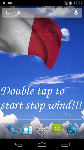 3D Malta Flag LWP +