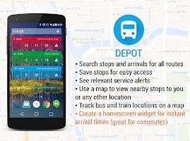 Screenshot of Depot: Chicago CTA and Divvy