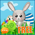 Easter Egg Rabbit GO SMS Theme icon