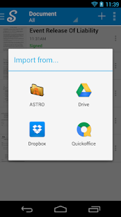 CudaSign (formerly SignNow)- screenshot thumbnail