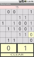 Screenshot of Binary Sudoku