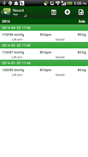 Blood Pressure Tracker- screenshot thumbnail